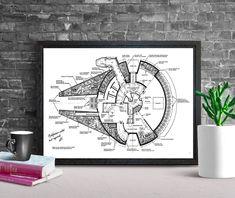 Star Wars Print Vintage Style, Vintage Fashion, Star Wars Prints, Millenium Falcon, Patent Prints, Artwork Prints, Texture, Stars, The Originals