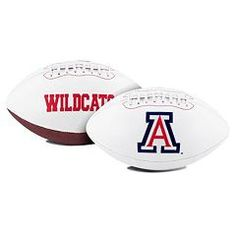 Arizona Wildcats Full Size Embroidered Signature Series Football (backorder)