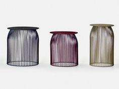 Table basse ronde en acier pour CHR TURI TURI by La Cividina | design Antonino Sciortino