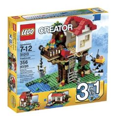 LEGO Creator Treehouse 31010 Toy Interlocking Building Sets Both kids were interested in this one... could be for either; they will share. :)