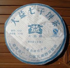 "Menghai Dayi Brand 2007 ""7532"" Raw Pu-erh Tea - 357g Cakehttp://www.jas-etea.com/menghai-dayi-brand-2007-7532-raw-pu-erh-tea-357g-cake/"