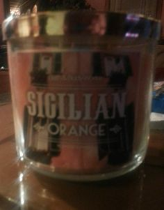 Bath and Body Works Scented Candle Sicilian Orange