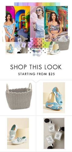 """""""Modcloth @ Los Cabos"""" by zazaofcanada ❤ liked on Polyvore featuring Modern.Southern.Home., But Another Innocent Tale, Rocket Dog, Melissa Flagg Perfume, UNIF and vintage"""