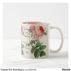 Custom Two Tone Mug | Zazzle