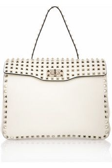 Valentino | Rockstud studded leather tote | NET-A-PORTER.COM - StyleSays