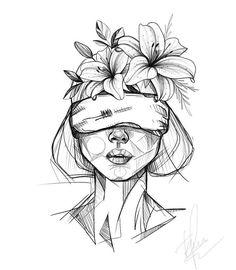 Dark Art Drawings, Art Drawings Sketches Simple, Pencil Art Drawings, Hipster Drawings, Graffiti Drawing, Tattoo Sketches, Arte Sketchbook, Cartoon Art, Painting & Drawing