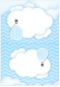 Balloon Birthday Themes, Diy Birthday Decorations, Baby Boy Signs, Theme Bapteme, Watercolor Card, Candy Bar Labels, Baby Shower Invitaciones, Baby Boy 1st Birthday, Baby Shower Invitations For Boys