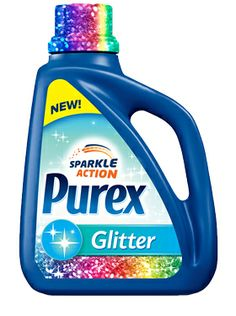 Purex 'Sparkle Action' Glitter Detergent - Your clothes can sparkle like your nails! (April 2013)