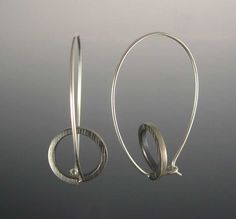 Theresa Carson ~Loop de Loop Oxidized Earrings