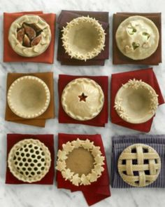 Pie crust decor