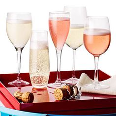 The Best Sparkling Wines under $15 We tasted over 100 wines to find the best sparkling wines under $15 for every occasion. You'll be so surprised that these 5 wines are so inexpensive, you'll want to do a toast to good cheap wines at your cocktail or holiday party, wedding reception or over dessert!