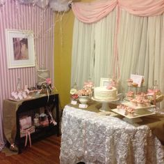 Pink Ballerina Party #pinkparty #ballerina