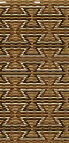Tapestry Crochet Patterns, Loom Patterns, Crochet Stitches, Knit Crochet, Beading Patterns, Mochila Crochet, Native American Patterns, Tapestry Bag, Beaded Bags