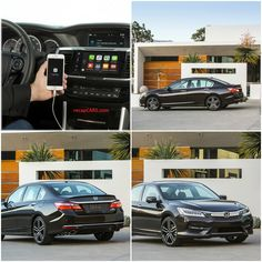 2016 Honda Accord with Apple CarPlay and Android Auto • recapCARS