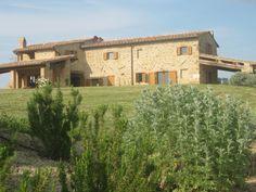 Villa Pennella outside – Monticchiello Val d'Orcia Siena Tuscany Italy