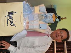 Tony Mancino, Owner Mancino Custom Tailors & Clothiers