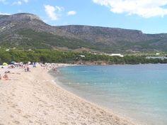 Croacia-Isla de Brac. Playa de Bol.