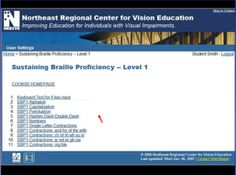 The Northeast Regional Center for Vision Education (NERCVE) offers professional development opportunities to teachers of the visually impaired (TVIs). Two self-paced study courses help busy vision professionals to maintain their skills with Literary and Nemeth Braille Codes, with no Brailler required!