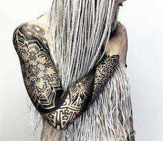 Mandala sleeve tattoo by Otheser Tattoo