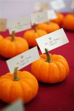 Fall Burgundy Orange Red Place Settings Trinkets Wedding Reception Photos & Pictures - WeddingWire.com