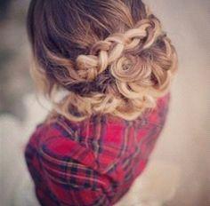 Beautiful hairupdo