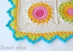 Beautiful crochet border free pattern