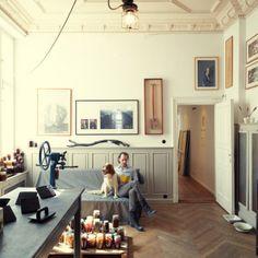 Frank Leder  Fashion Designer , Studio, Charlottenburg, Berlin