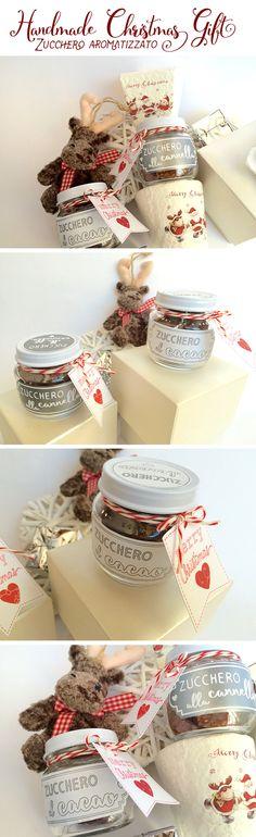 Christmas Gift 2015: Zucchero aromatizzato #christmas #handmade #christmasgift #christmasjar #babyfoodjar #christmashandmade #handmadechristmasgift