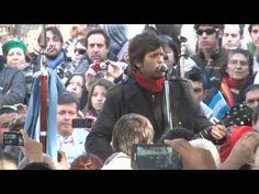 """Desfile de Veteranos 20 de Junio de 2013 - Ciro canta """"Héroes de Malvinas"""" - VIDEO OFICIAL EN HD - YouTube"""