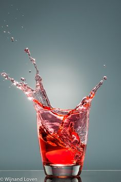 Red splashes by Wijnand Loven on 500px