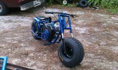 Fat Tire Mini Bike with V-Twin Motor