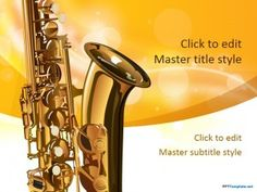 22 best music powerpoint template images on pinterest powerpoint prepare saxophone sheet music and teach the basics of how to play a musical instrument in this free saxophone powerpoint mac and pc theme for a wedding gig toneelgroepblik Image collections