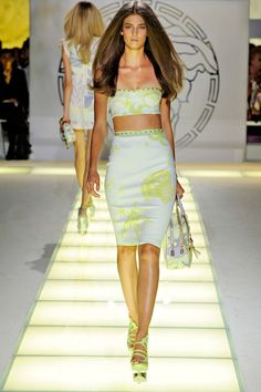 Spring/Summer 2012 Feat. Cindy Crawford in Versace by Alix Malka