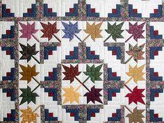 Autumn Splendor Amish Quilt pattern   prev quilt next quilt