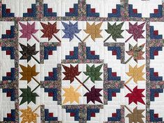 Autumn Splendor Amish Quilt pattern | prev quilt next quilt