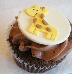 Giraffe Cupcake Idea