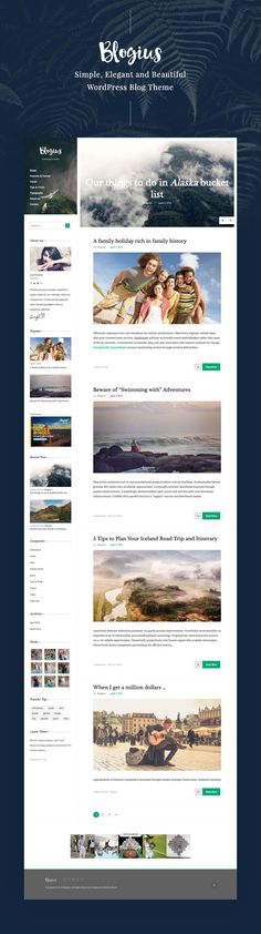 Blogius | Powerful Responsive Personal Blog Wordpress Theme • Download theme ➝ https://themeforest.net/item/blogius-powerful-responsive-personal-blog-theme/15677788?ref=pxcr