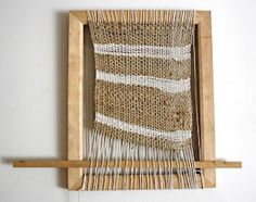 loom textile wall hanging art