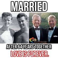 married  & with 64 years together