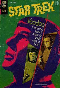 First Star Trek comic from Gold Key (1967)