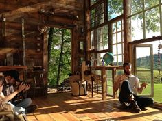 nick interior Photos: Nick Olson and Lilah Horwitz's glass house in the woods