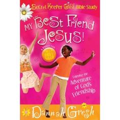 """The Secret Keeper Girl Bible Study is the most fun a girl will ever have digging into God's word. In My Best Friend, Jesus, Dannah Gresh teaches young girls how to meditate on God's Word. """"Meditating is what happens when studying the Bible and praying collide."""" This life-long skill is embedded into the important topic of pursuing friendship with God."""
