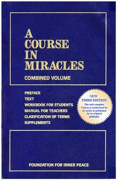 "Click this link to find,  ""A Summary of A Course in Miracles.""    Love this book. Been reading it since 1986... it's a book one never really finishes. You will either Love it.. or want to toss it out the window! As for me, I've always felt it was written just for me. ♥"