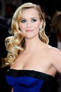 Bridal Hair: Reese Witherspoon, #Oscars vintage glamour