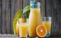 Healthy fresh orange juice on the woodent table by OxanaDenezhkina IFTTT cocktail background beverage breakfast bright citrus closeup cut delicious diet drink Diet Drinks, Orange Juice, Diet Tips, Glass Of Milk, Vitamins, Homemade, Fresh, Healthy, Recipes