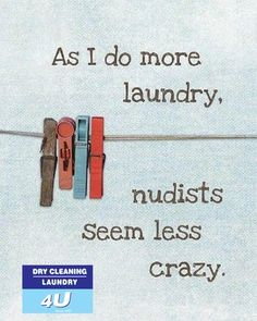 Don't go naked to work this week. Stop by and let us tackle the laundry. http://drycleaning4u.co.za/household-laundry-and-ironing/
