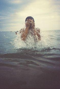 In the Ocean / summer / fun / splash Summer Goals, Summer Of Love, Summer Fun, Summer Travel, Fuerza Natural, A Well Traveled Woman, Beach Bum, Beach Riot, Strand
