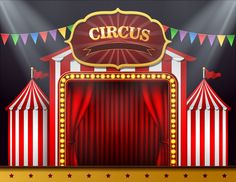 Buy Circus Cruise Baby Stage Tent Red Curtain Birthday Party Play Show Portrait Photo Backdrops Photography Backgrounds Photo Studio Carnival Birthday Parties, Circus Birthday, Circus Party, Background For Photography, Photography Backdrops, Event Photography, Photography Backgrounds, Photo Backdrops, Circus Background