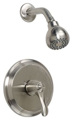 Gerber G9-320 Allerton Shower Trim Package with Single Function Shower Head Brushed Nickel Faucet Shower Only Single Handle