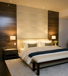 Stunning Minimalist Modern Master Bedroom Design Best Ideas - Home Decor Ideas 2020 Home Decor Bedroom, Modern Bedroom, Home Bedroom, Bedroom Interior, Bedroom Design, Luxurious Bedrooms, Master Bedroom Interior, Master Bedrooms Decor, Remodel Bedroom